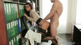 Office Obsession – Alexis Brill and Viktor Solo
